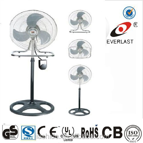 18 inch powerful 3 in 1 industrial fan electric power pedestal cheap stand fan FS-45-301