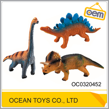 Kids lovlely christmas decoration three models mini dinasour toys