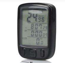 Electrical waterproff bicycle computer / speedometer with light & bike computer for bike accessories