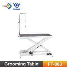 FT-808 Height Adjustable Low Electric Dog Table Pet Grooming Table Dog Supplies