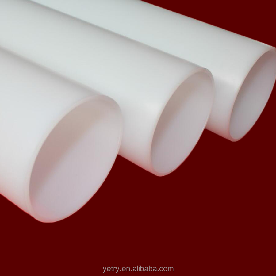 Hard HDPE Colore Tube Plastic Packing Core for Labels pipe manufacturing