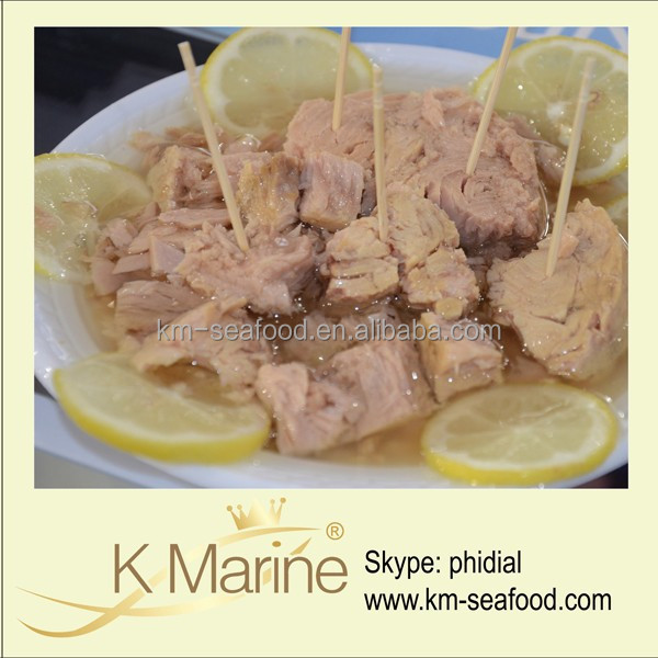 High Quality Canned Fish In Tuna Canning Factory lot number#kmc4038