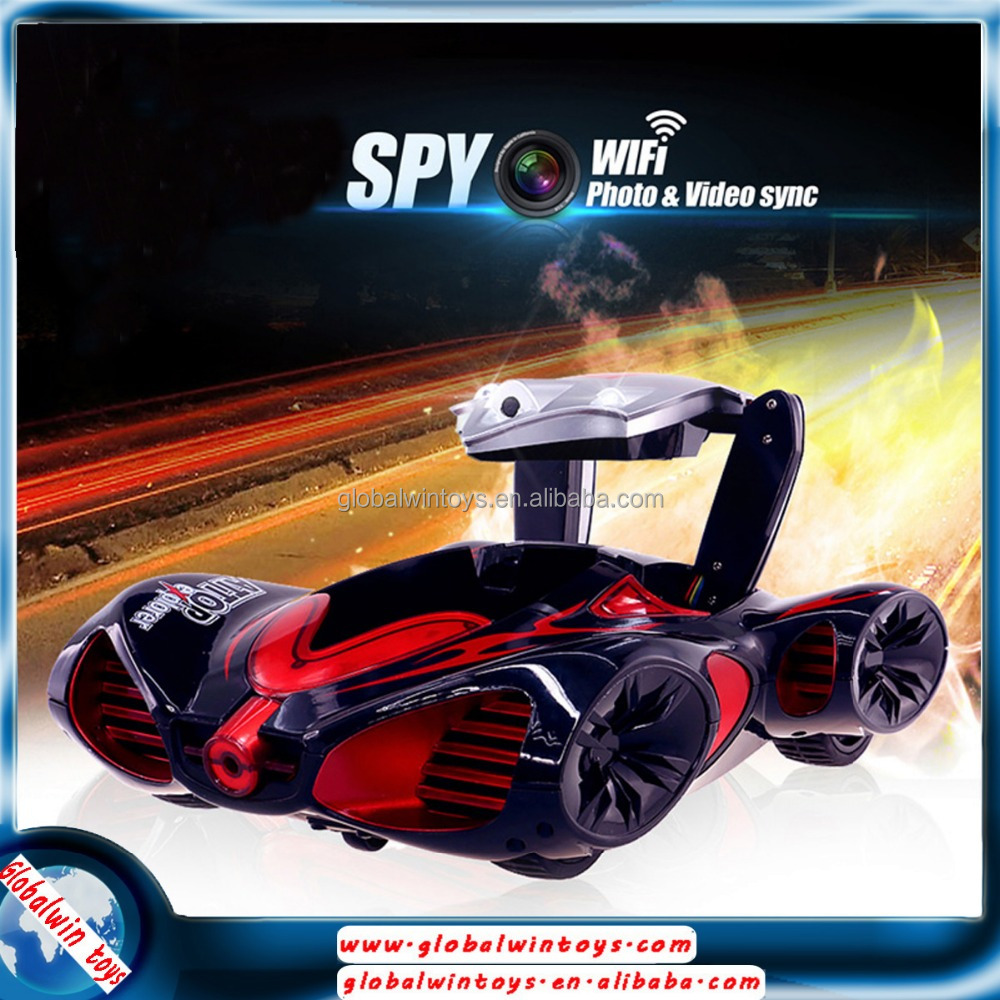 Fancy design 4ch rc car with camera photo&video sync wifi remote controlled car inspection equipment rotable spy camera YD-216
