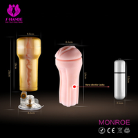 Male sex toy pussy aircraft cup/artificial pussy for male
