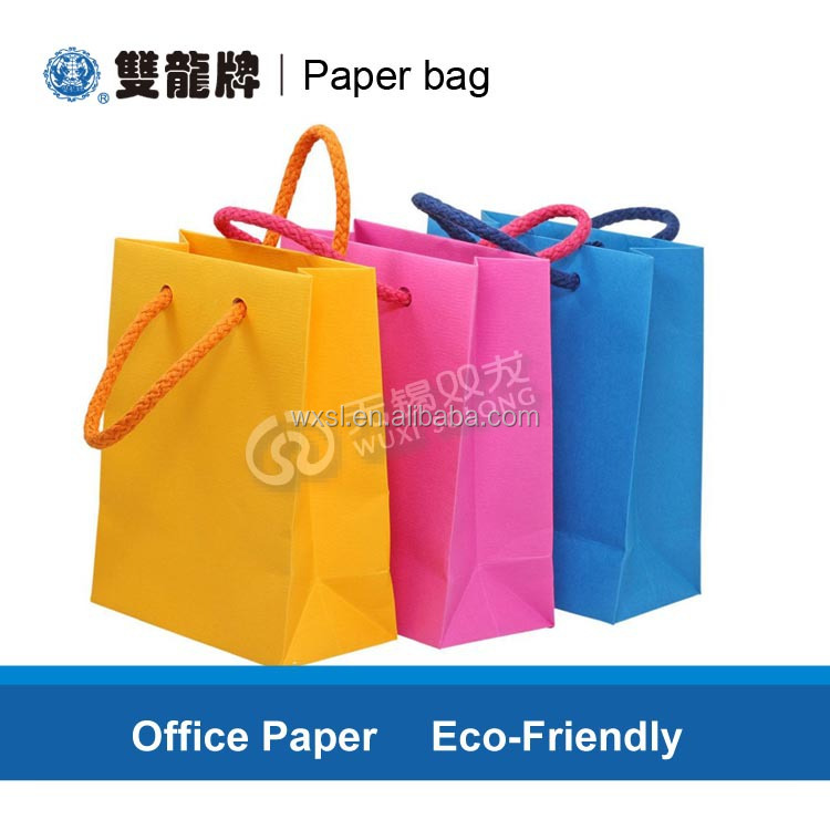 Eco-friendly Free Factory Sample paper shopping bag for Christmas