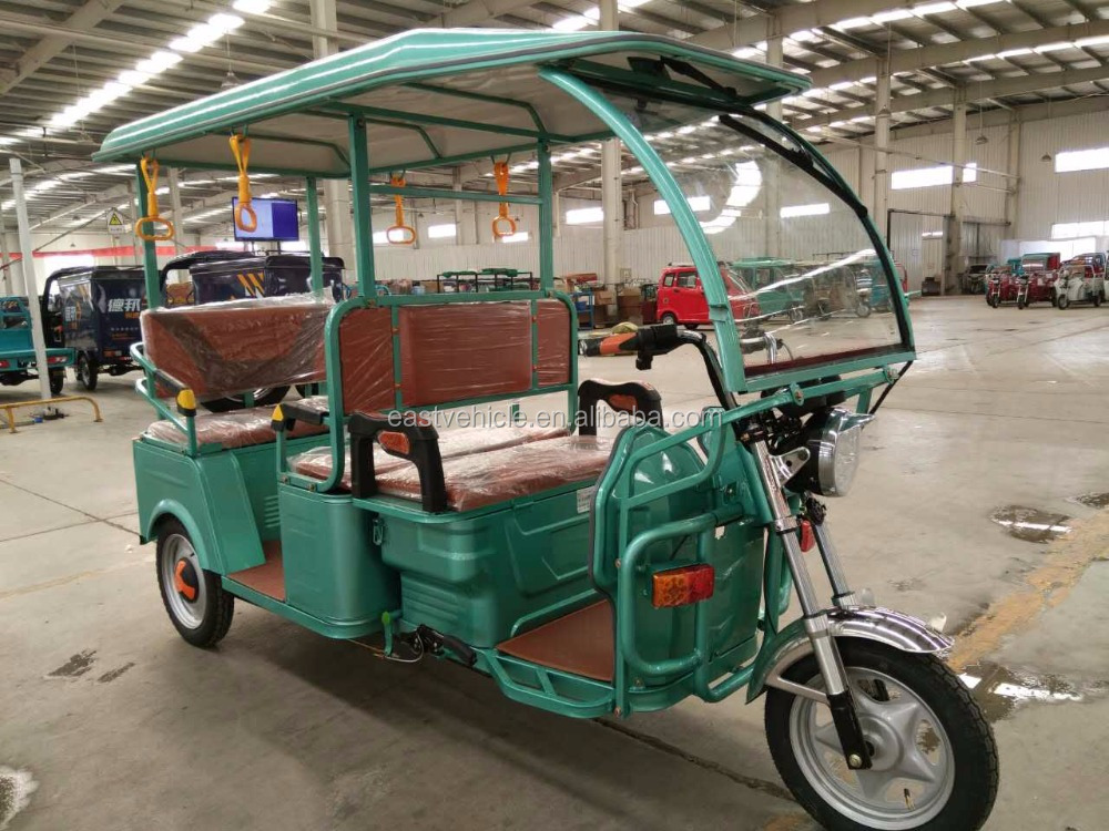3 three wheel electric vehicle ELECTRIC RICKSHAW,ELECTRIC TRICYCLE,BATTERY OPERATED RICKSHAW 1000W FOR PASSENGER