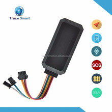 china gsm gps motorcycle/car tracker alarm system with sos panic button and fuel management TS08