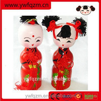 Wholesale Chinese traditional wedding decoration doll