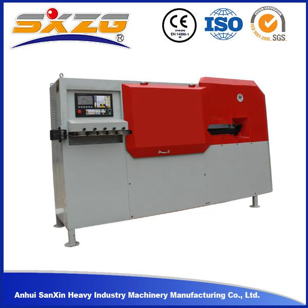 Fast speed SX5-12D automatic rebar stirrup bending machine for 10mm ribbed rebar