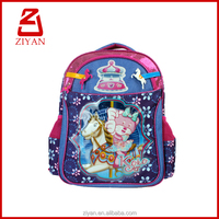 hot sale youth girl daily pack ecological pvc school bag
