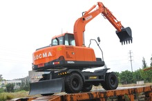 best price 8ton wheel excavator used doosan excavator