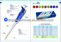Single Channel Adjustable-volume Micropipette 2-20ul for laboratory pipette