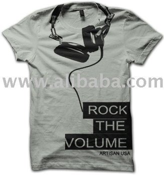 "Men's Graphic T-shirt ""Rock the Volume"""