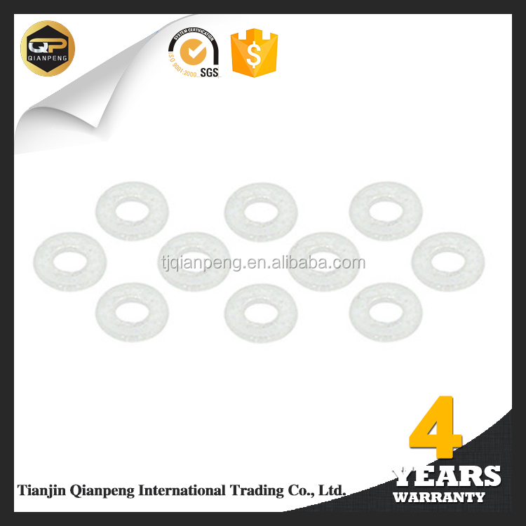 Super factory best pricing acid resistant food grade plastic washers