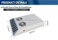 High cooling capacity van minibus air conditioner cooling system 12v/24v