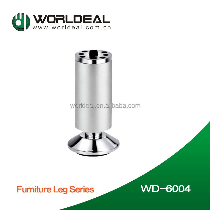 Furniture sofa legs with brush nickel/sandy/chrome finished