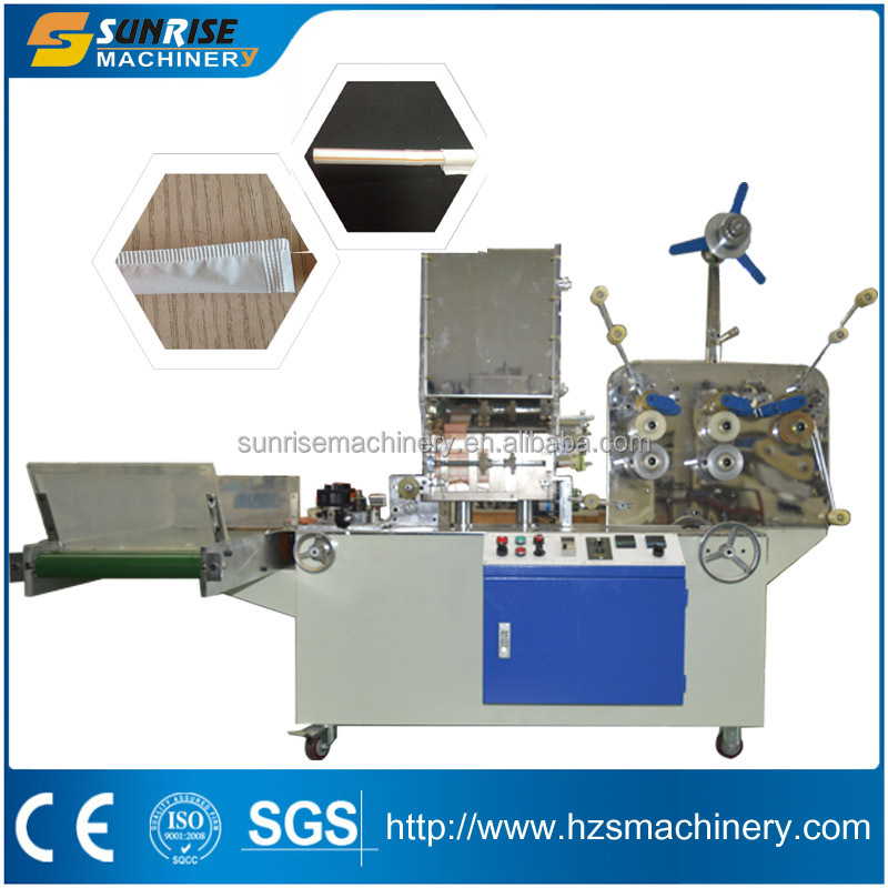 Single straw wrapping machine with printing function