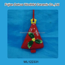 Ceramic hanging decoration with tree shape