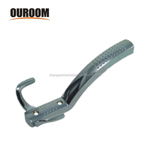 Ouroom/OEM Wholesale Products Customizable Zinc Alloy Colth Coat Hook Metal Wall Hook