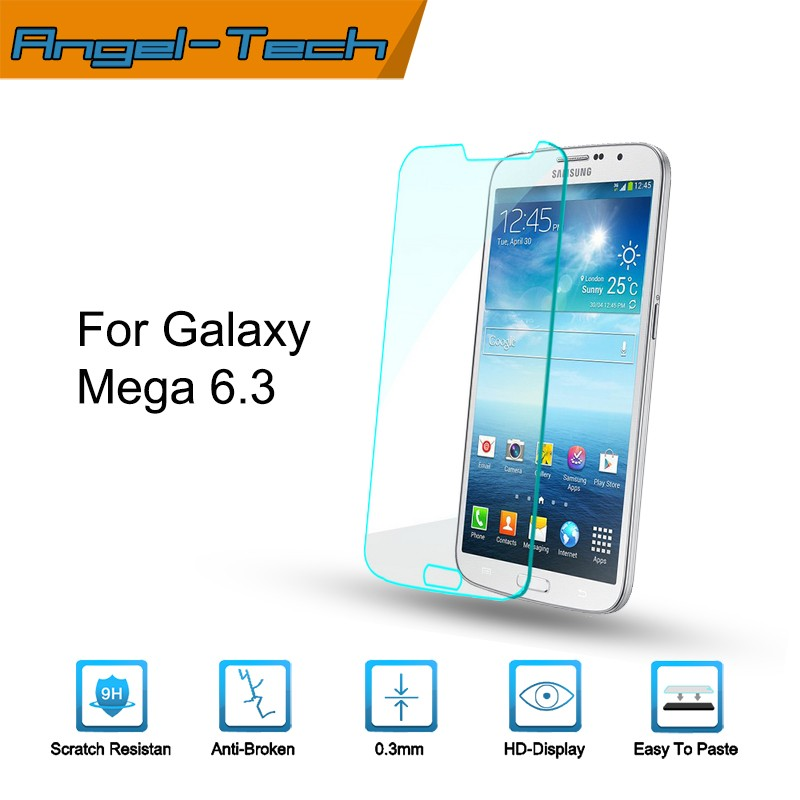 Tempered glass screen protector for samsung galaxy mega 6.3