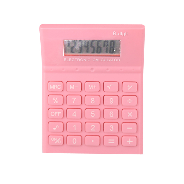 Customized Colorful Standard Function Electronic Office Calculator