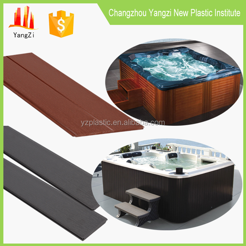 PS plastic skirting board bathtub covers