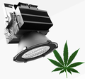 Hot selling High lumen waterproof full spectrum hydroponics 480w 500w led grow light