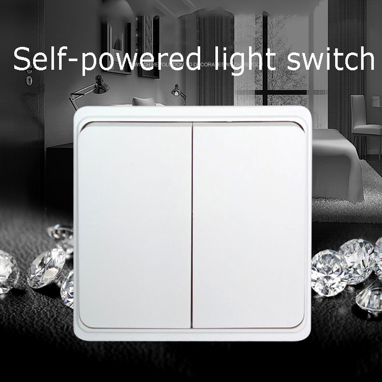 220V 110V 1000W Wireless light switch with NO Battery remote control