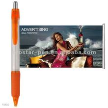 Advertising Gifts cheap message Pull Out Banner Push Type Pen