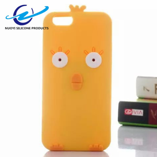 Cool cartoon 3D Silicon Phone Case for iPhone 6S,for iPhone 6S Case with Customized 3D Image