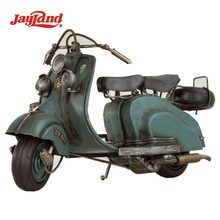 Antique Style Metal Model Motorcycle/Old Vespa/Motor Model