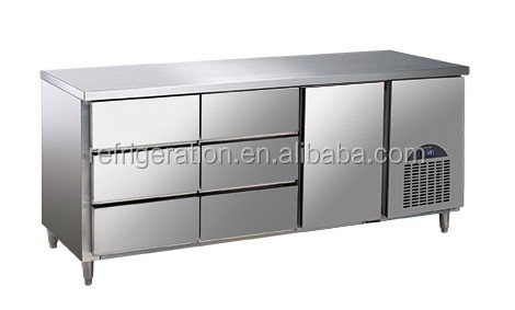 D0.4LD6F Surpass Commercial Stainless Steel Refrigerated Work Bench