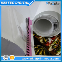 Glossy and Matte Waterproof and Tear Resistant Inkjet Self Adhesive PP Paper Roll for Indoor Printing