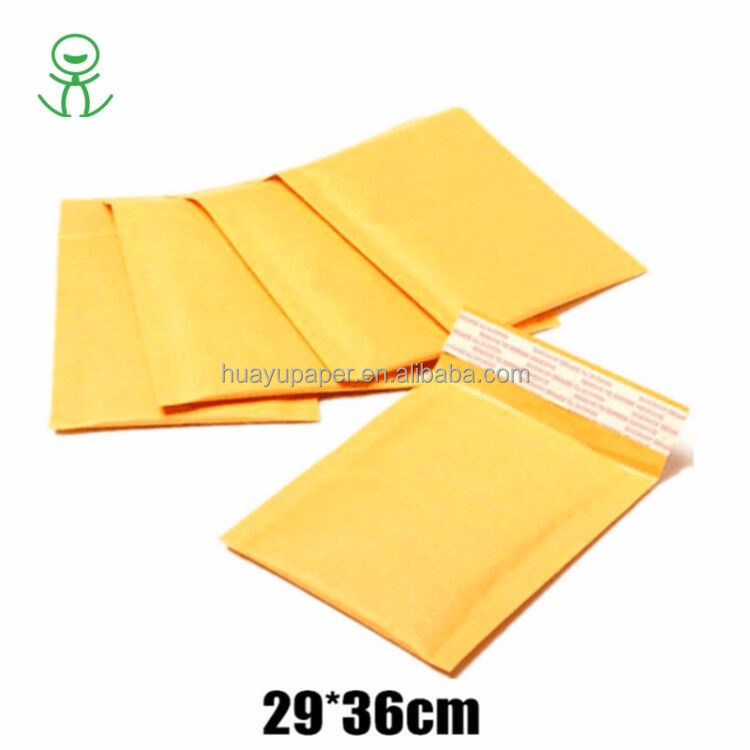 WOW Unbelievable Yellow Kraft Paper Bubble Envelope