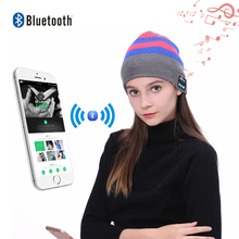 Hot Sale Music Cap Earphone Beanie Mic Smart Hat Winter Hat Bluetooth