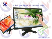 Fashional Style With CE/ ROHS 22 Inches Flat Screen Computer Display Monitor