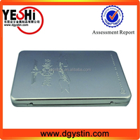 Printable CD Sleeve tin case for music CD packing, CD Tin case supplier