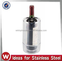 Plastic Wine Cooler with Double Wall