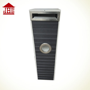 JHC004White Plastic wood letterbox/ freestanding letterboxes/ letter box outdoor