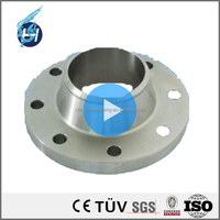 high precision customized aluminum casting grinding stainless steel class 150 bearings puddle steel flange with bending milling