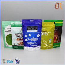 High quality aluminum foil lined paper bag for chicken food packaging