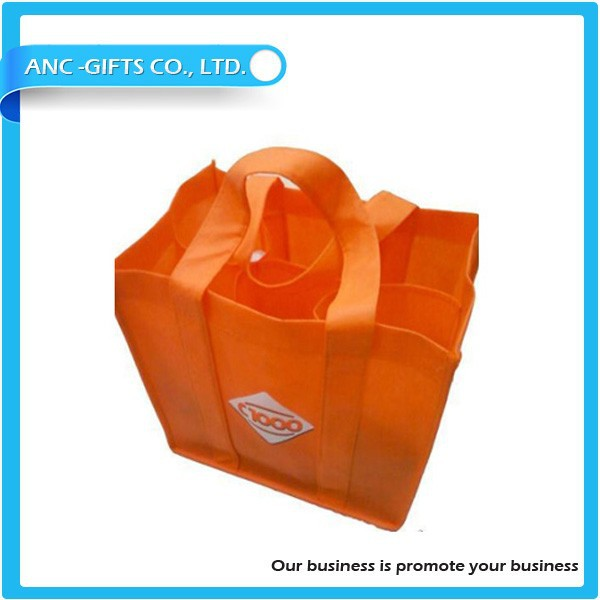 Light Durable High Quality Non-woven wine cooler bag