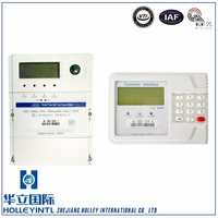 ddsy28 single phase split energy meter keypad