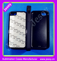 JESOY Hot Selling Blank 2D Sublimation Silicone Cell Phone Case For iphone 5 5c With Aluminum Sheet