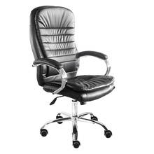 Swivel Chair Office Furniture black PU leather manager chair