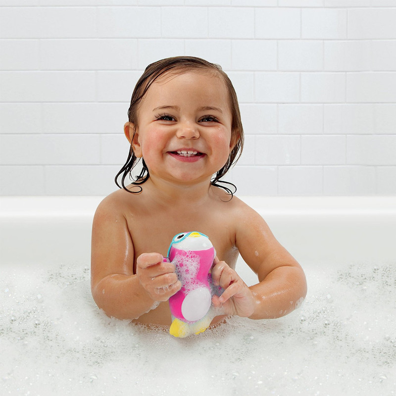2015 New Hot Lovely Cute Wind Up Swimming Penguin Baby Bath Toy From Dongguan ICTI Manufacturer