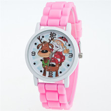 christmas gift unique stylish kids watches with silicon strap for clock kids from guangzhou watch market