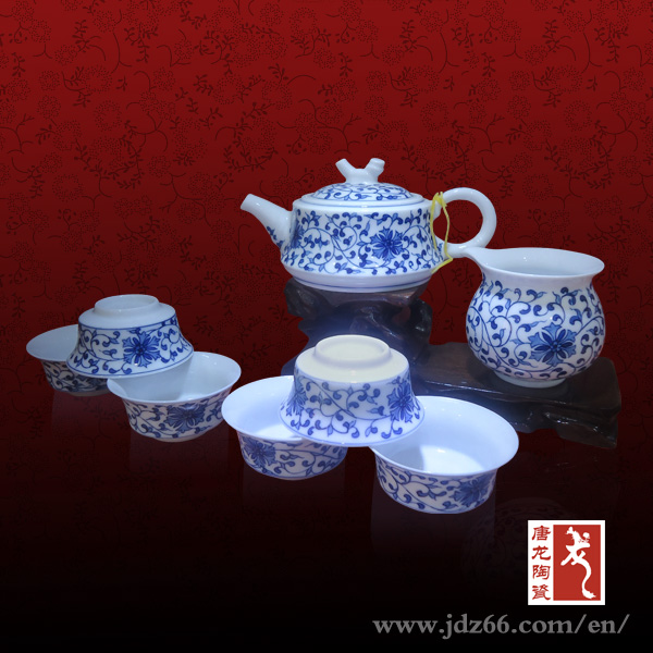 Hand Painted Porcelain Sample Order Tea for One
