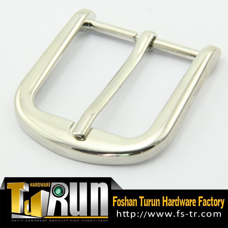 Whosales classic metal belt buckles with prong for garment ornament