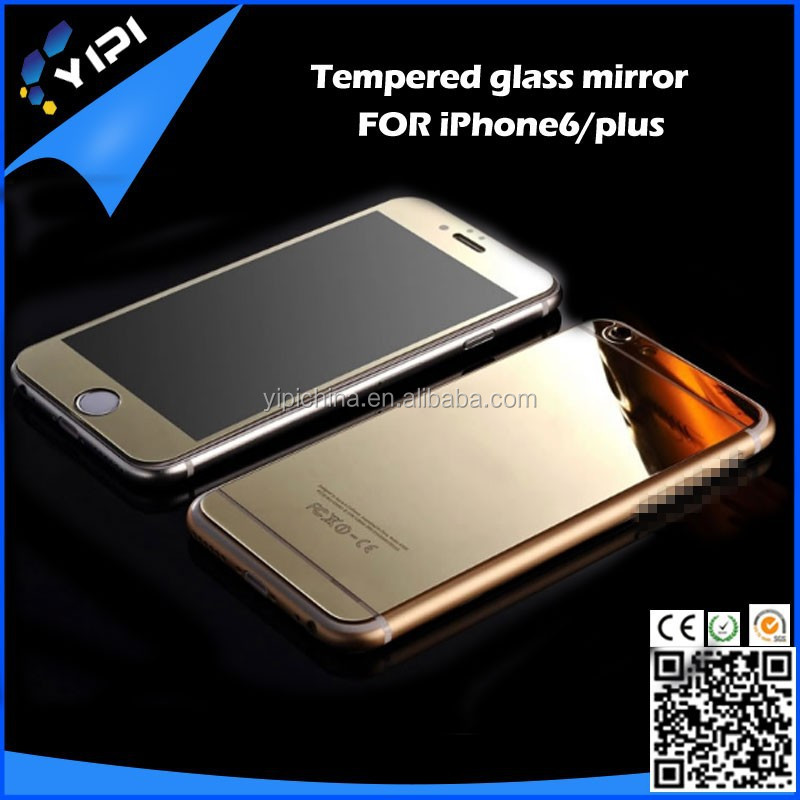 Nano crystal tempered glass screen protector for iphone 6,for iphone 6 screen protector glass front and back